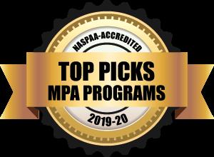 Top Pick MPH Programs Badge