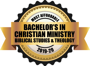 Most affordable christian ministry badge